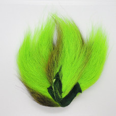 BUCKTAIL PIECES, FL.CHARTREUSE