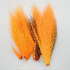 BUCKTAIL PIECES, FL.FIRE ORANGE