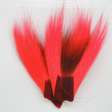 BUCKTAIL PIECES, FL.RED