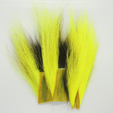 BUCKTAIL PIECES, FL.YELLOW