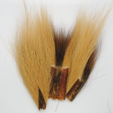 BUCKTAIL PIECES, GINGER