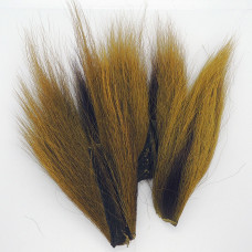 BUCKTAIL PIECES, OLIVE