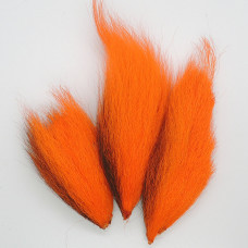 BUCKTAIL PIECES, ORANGE