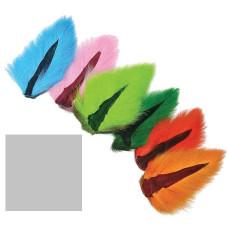 Бактейл великий Wapsi Bucktail Large, перламутрово-сірий (PEARL GRAY)