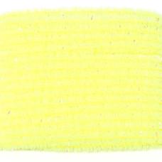 Синель з блискітками Wapsi Wooly Bugger Chenille, мала флуо-жовта (SMALL, FL YELLOW)