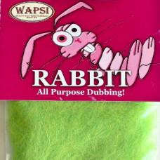 Даббіна з кролика Wapsi Rabbit Dubbing, шартрез (FL CHARTREUSE)