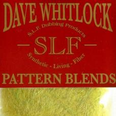 "Даббінг SLF Dave Whitlock Pattern Blends, ""оливкова німфа бабки"" (DAMSEL NYMPH OLIVE)"