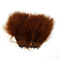 Марабу Wapsi Strung Marabou (Blood Quill), коричневий (BROWN)