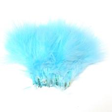 Марабу Wapsi Strung Marabou (Blood Quill), флуо-блакитний (FL BLUE) Купити за 48 грн.
