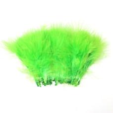 Марабу Wapsi Strung Marabou (Blood Quill), флуо-зелений (FL GREEN)