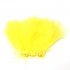 Марабу Wapsi Strung Marabou (Blood Quill), жовтий (YELLOW)