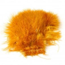 Марабу Wapsi Wooly Bugger Marabou, рудо-помаранчевий (BURNT ORANGE)