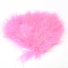 Марабу Wapsi Wooly Bugger Marabou, флуо-рожевий (FL PINK)