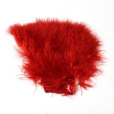 Марабу Wapsi Wooly Bugger Marabou, червоний (RED)