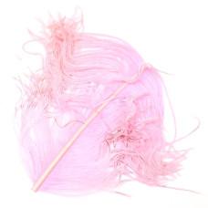Відрізок пера страуса Wapsi Ostrich Herl, рожевий (PINK)