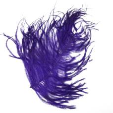 Відрізок пера страуса Wapsi Ostrich Herl, пурпурний (PURPLE)
