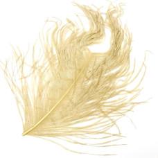 Відрізок пера страуса Wapsi Ostrich Herl, тан (TAN)