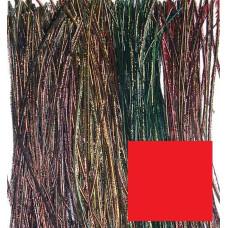 Борідки хвостового пера павича Wapsi Peacock Herl Strung, червоні (RED)