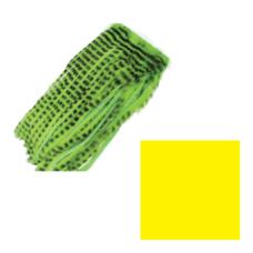 Смужки хутра кролика смугасті Wapsi Barred Rabbit Zonker Strips, жовті (YELLOW)