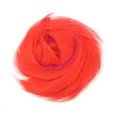 Смужки хутра кролика Wapsi Rabbit Zonker Strips, флуо-червоний (FL RED)