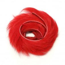 Смужки хутра кролика Wapsi Rabbit Zonker Strips, червоні (RED) Купити за 68 грн.