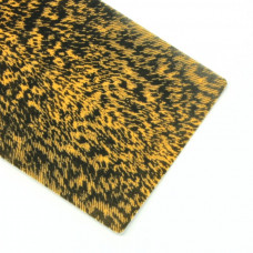 """Плівка """"дуб"""" Wapsi Thin Skin Mottled Oak, помаранчева з чорним узором (ORANGE)"""